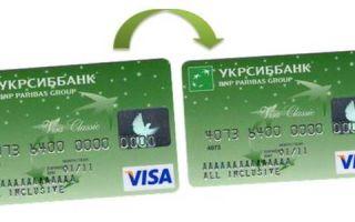Как перевести деньги с карты на карту УкрСиббанка