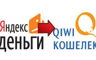 Как перевести деньги с Яндекс деньги на Киви