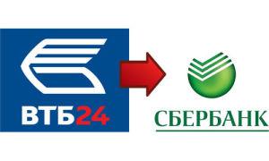 Перевод с ВТБ на Сбербанк — комиссия