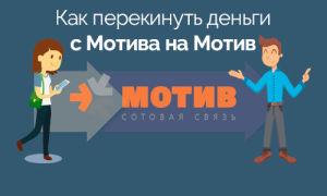 Как перекинуть деньги с Мотив на Мотив