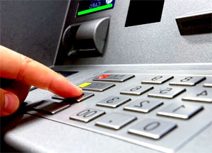 Перевод с помощью банкомата