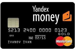 Привязка карты Яндекс деньги