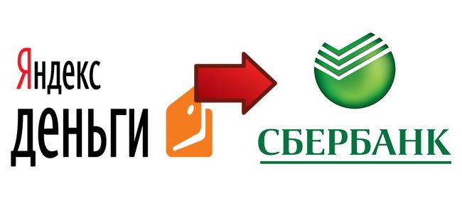 Как перевести Яндекс деньги на карту Сбербанка
