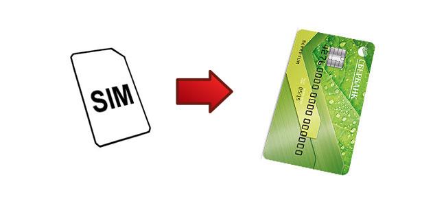 Перевести деньги с сим-карты на карту Сбербанка