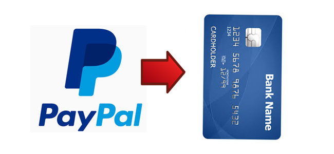 Как перевести деньги с Paypal на карту