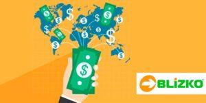 Близко позволяет отправлять деньги по всему миру