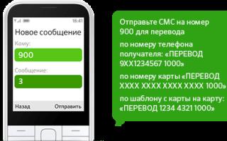 Как перевести деньги на карту Сбербанка по СМС